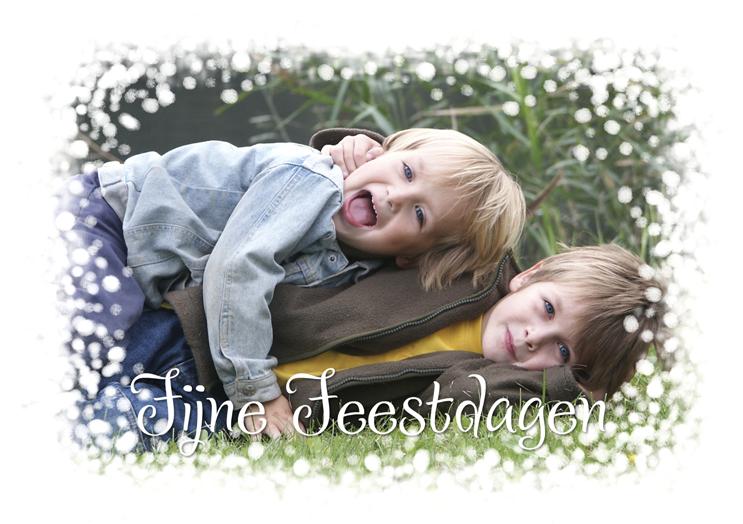 Je mooiste foto's op een kerstkaart laten drukken
