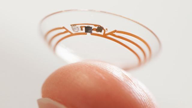 Google onderzoekt mogelijkheid voor contactlenzen met ingebouwde camera